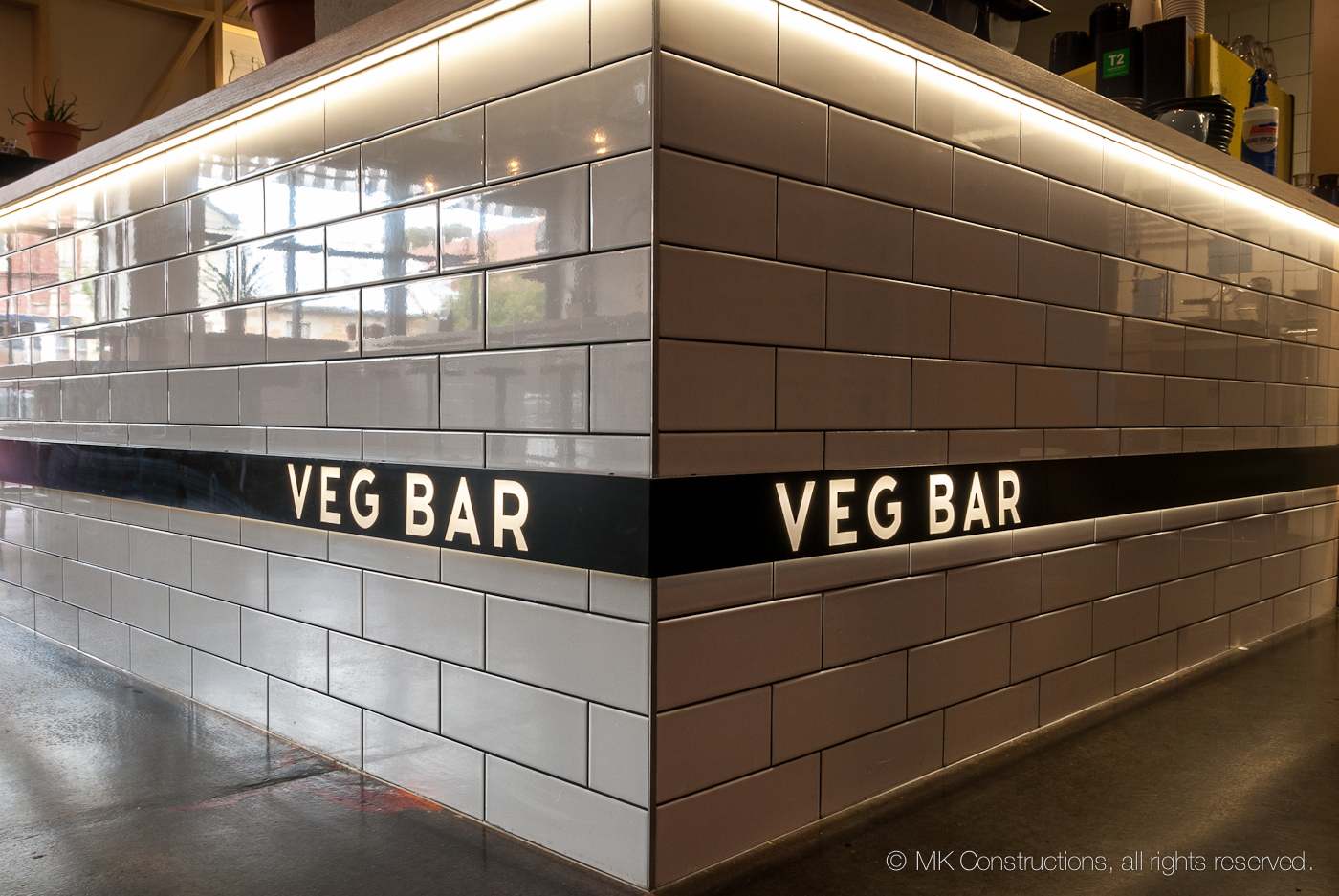 VEG BAR - MK Constructions